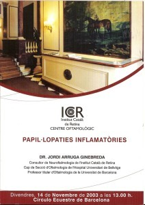 2003 papil.lopaties inflamatories