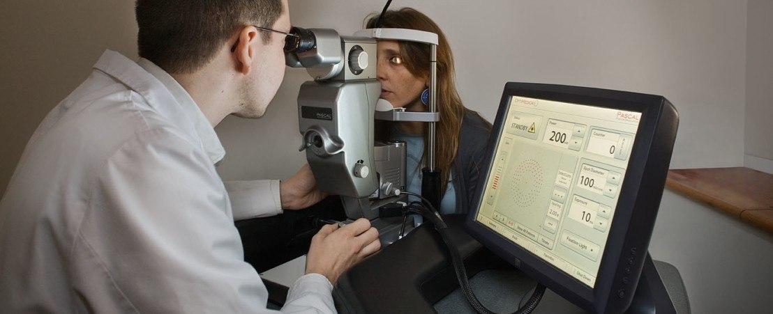 ليزر الآرجون الصوري لعلاج تخثر الدم (Argon Laser)