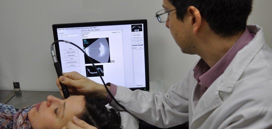 Échographie Oculaire