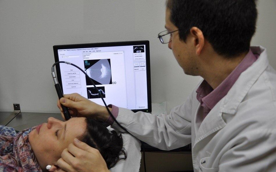 Ocular ecography