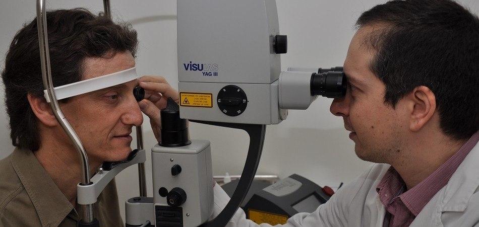 Traitement au laser YAG