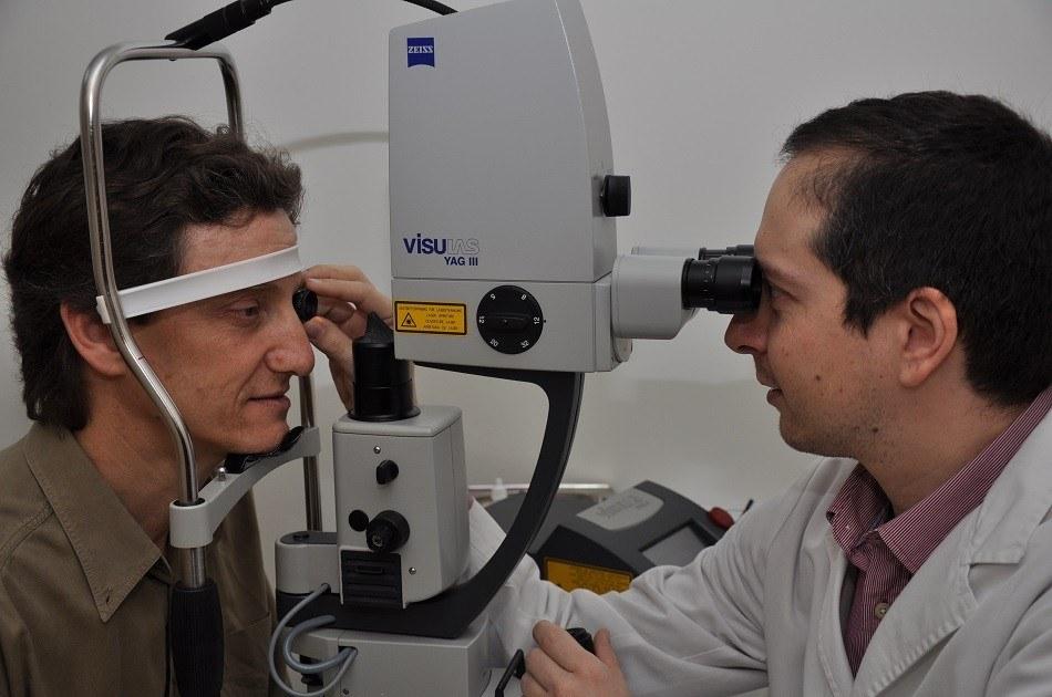 Лечение с помощью Yag-лазера