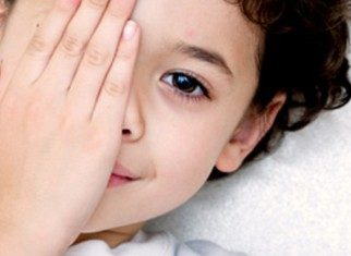 Amblyopia or lazy eye syndrome