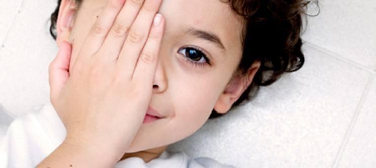 Amblyopia or lazy eye syndrome