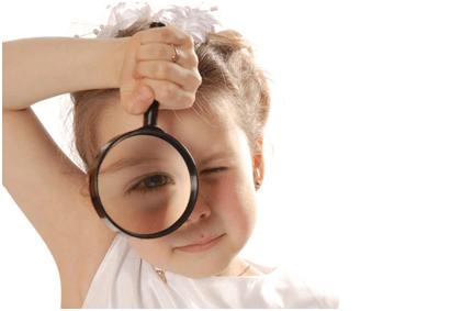طول البصر في الطفولة