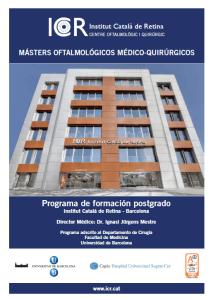 Programa Màsters ICR
