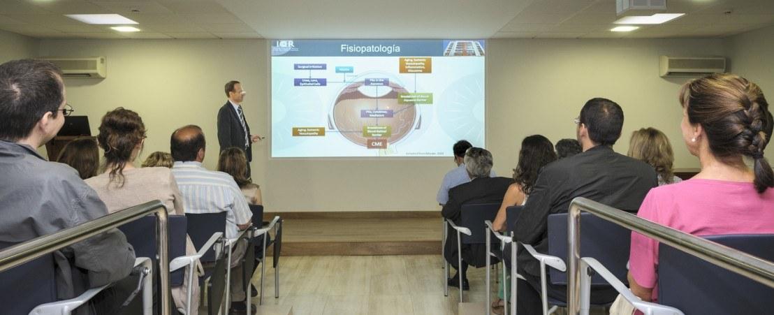 """Conferencia destinada a pacientes y familiares: """"No pierda de vista el Glaucoma"""""""