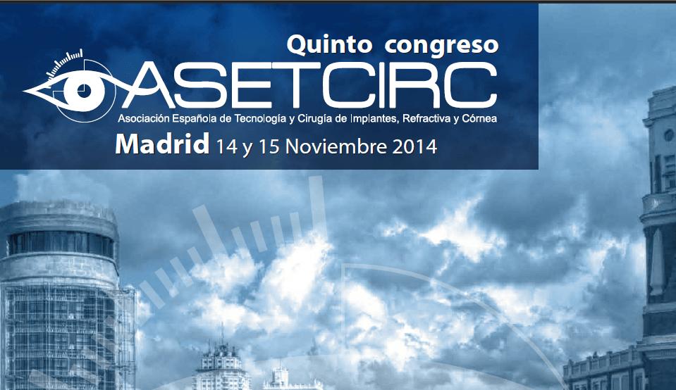 Destacada participación del Departamento de Cirugía Refractiva del ICR al congreso ASETCIRC