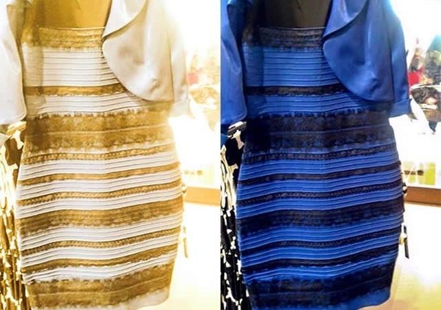 La resposta al color del vestit és dins del nostre cervell