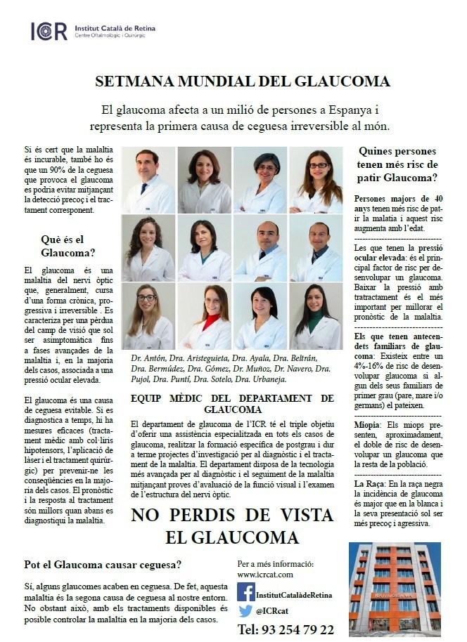 imatge setmana mundial del glaucoma