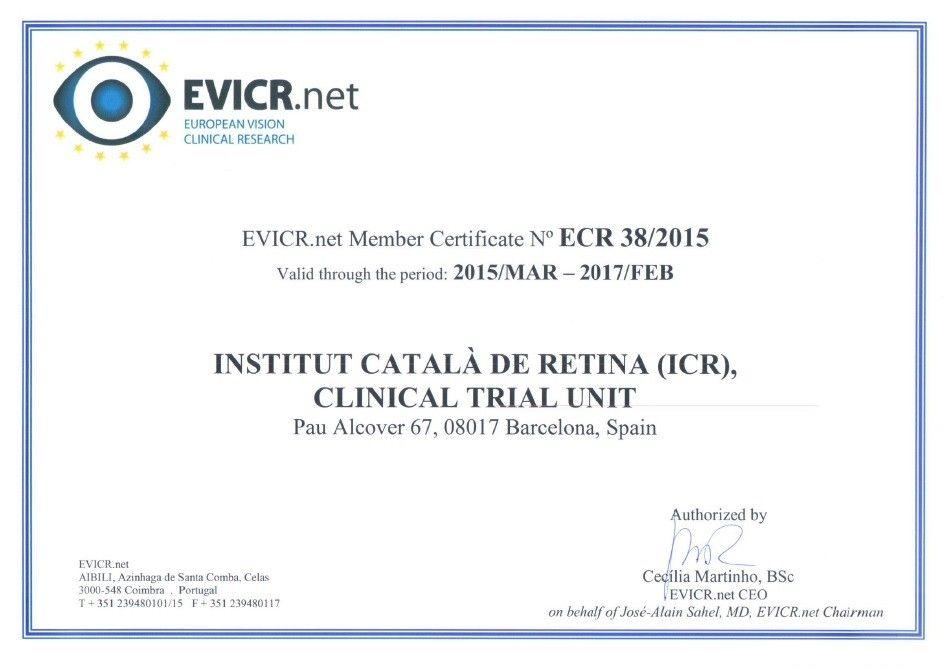 L'ICR est un centre accrédité par les essais cliniques dans l'EVI.CT.SE