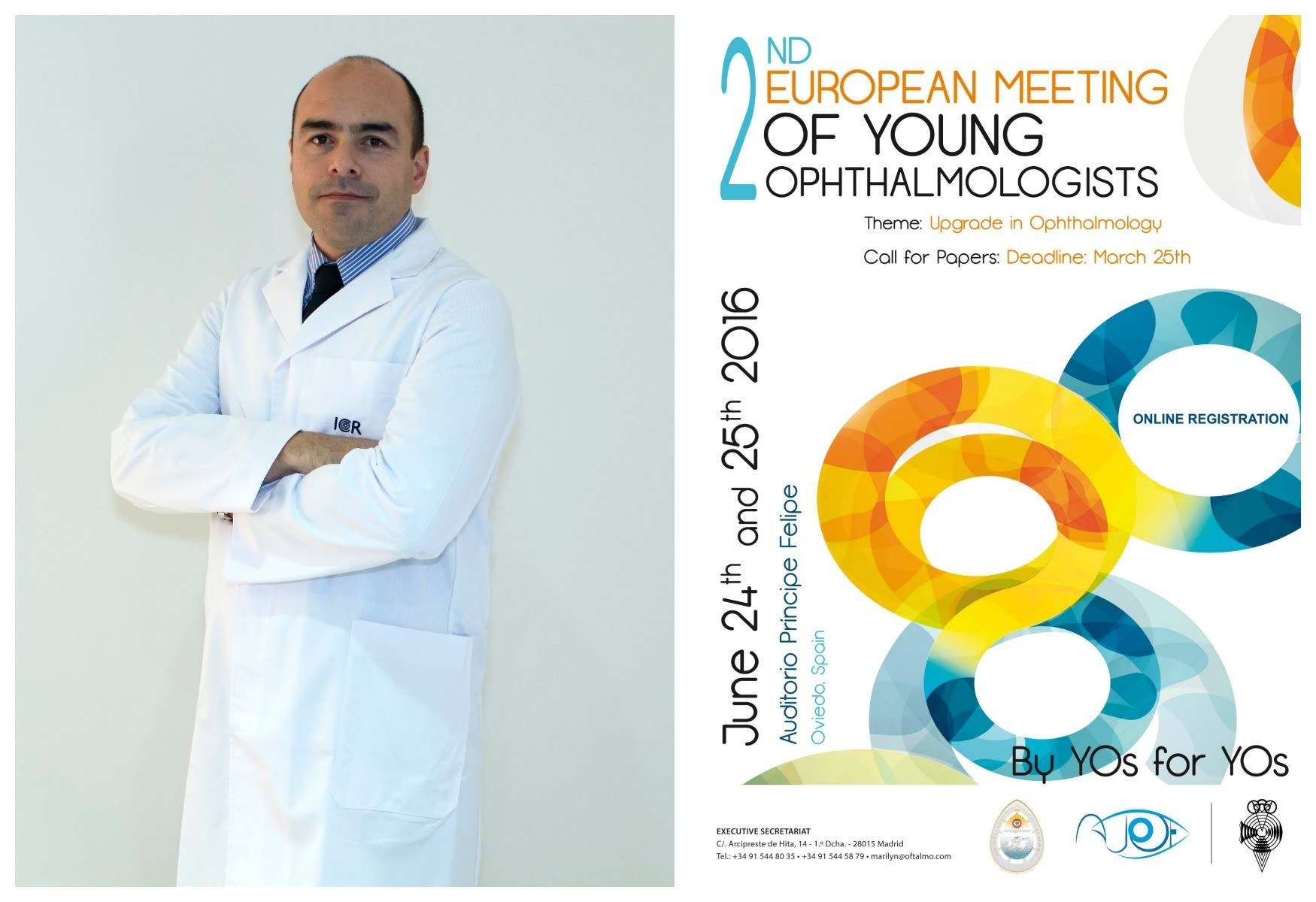 "Dr. Marcos Muñoz: ""Emerging trends and hot topics in glaucoma from the 2015 ARVO annual meeting""."
