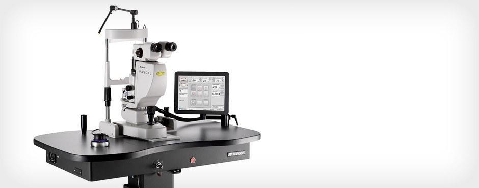 Système de photocoagulation PASCAL : système laser à balayages de motifs