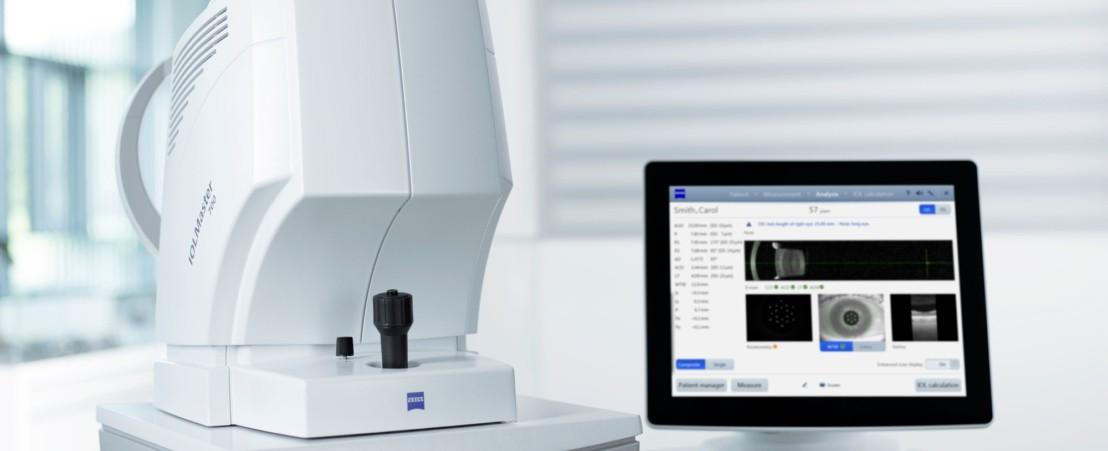 الاجهزة المجهرية (البيومترية) لقياس البصر