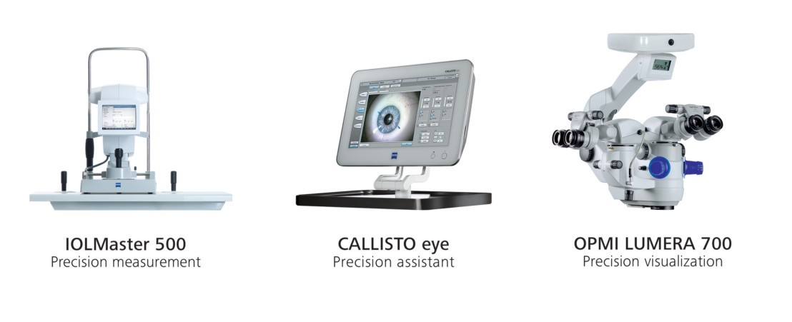 Sistema de microscòpia més avançat en la cirurgia de la cataracta