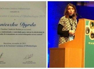 Beca de la Societat Catalana d'Oftalmologia