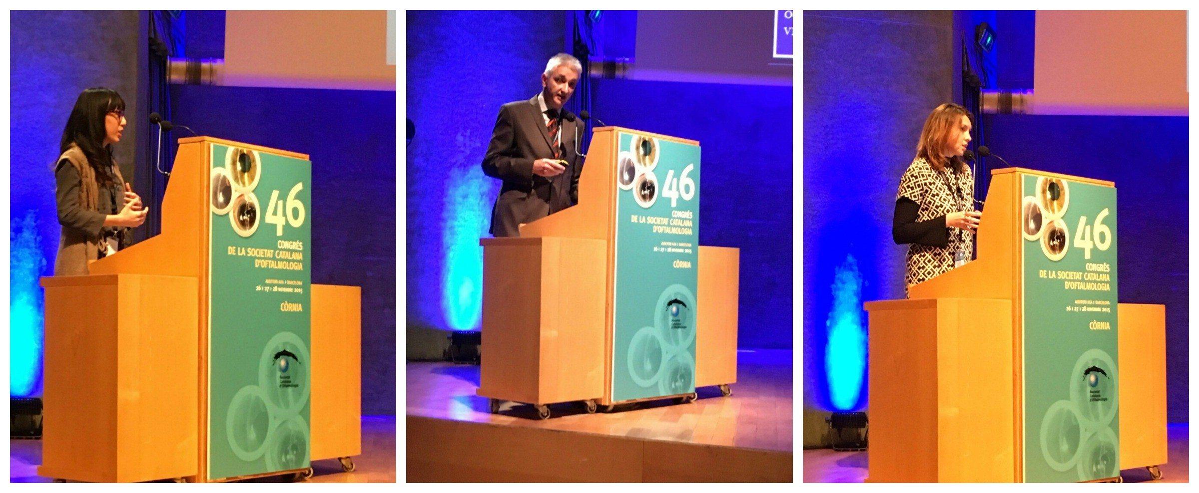 Participació destacada de l'ICR al 46è Congrés de la Societat Catalana d'Oftalmologia