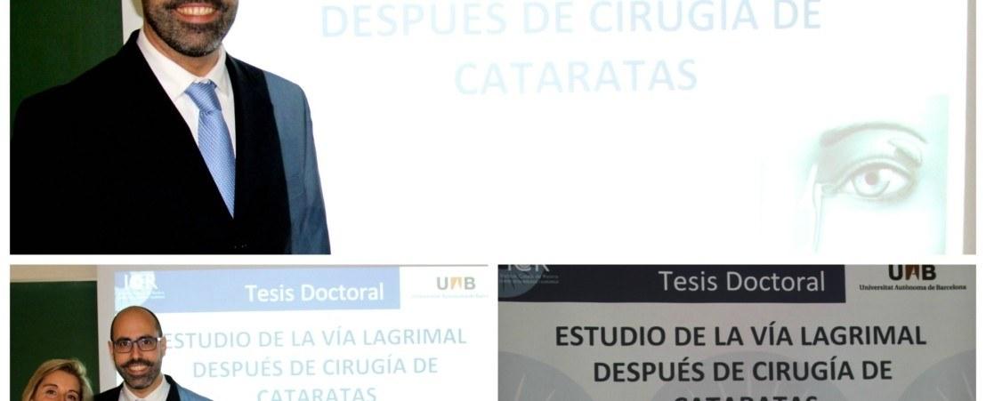 El Dr. Xavier Graell presenta la seva tesis doctoral a la UAB