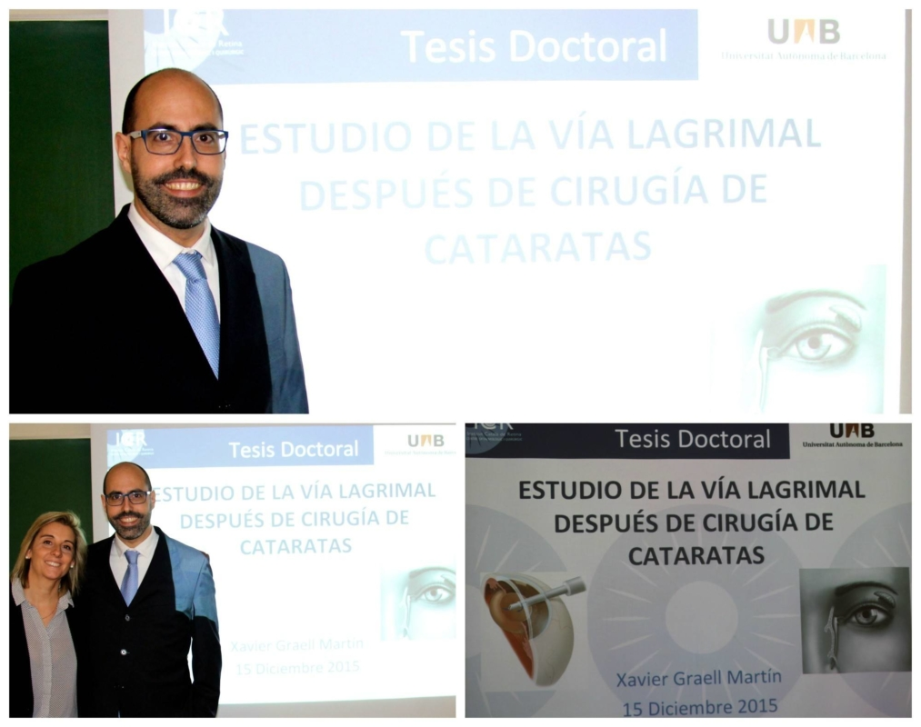 Dr. Xavier Graell presents his doctoral thesis at UAB University