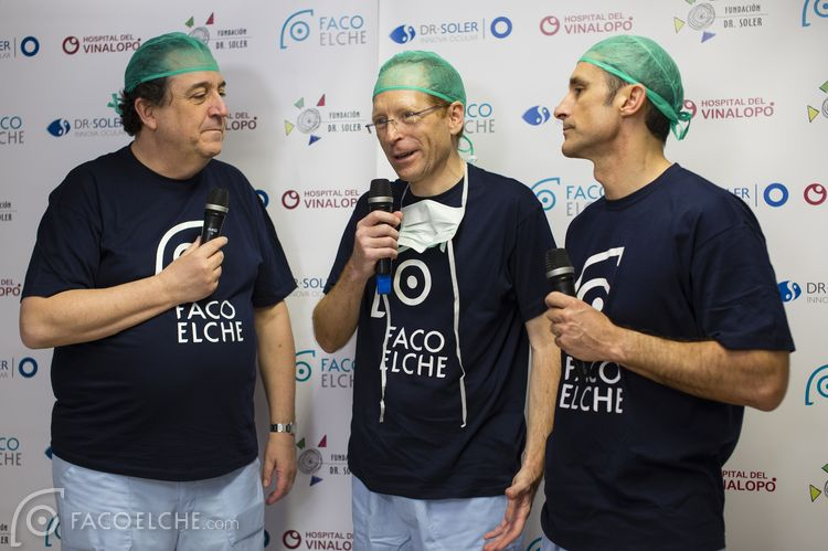 ICR Medical Director Dr Ignasi Jürgens, and Head of Refractive Surgery Department Dr Francesc Duch, take part on FacoElche 2016
