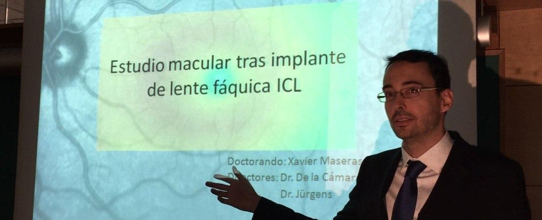 Le Dr. Xavier Maseras soutient sa thèse de doctorat