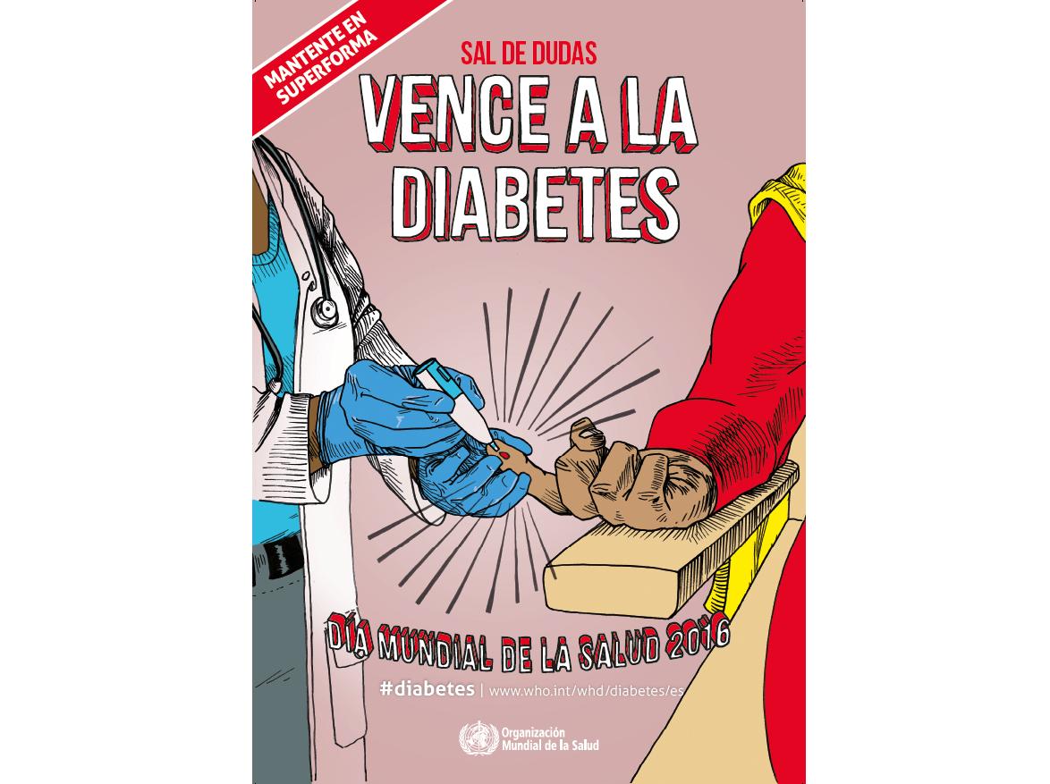 Dia Mundial de la Salut 2016: Vèncer la diabetis i els problemes de ceguesa que provoca
