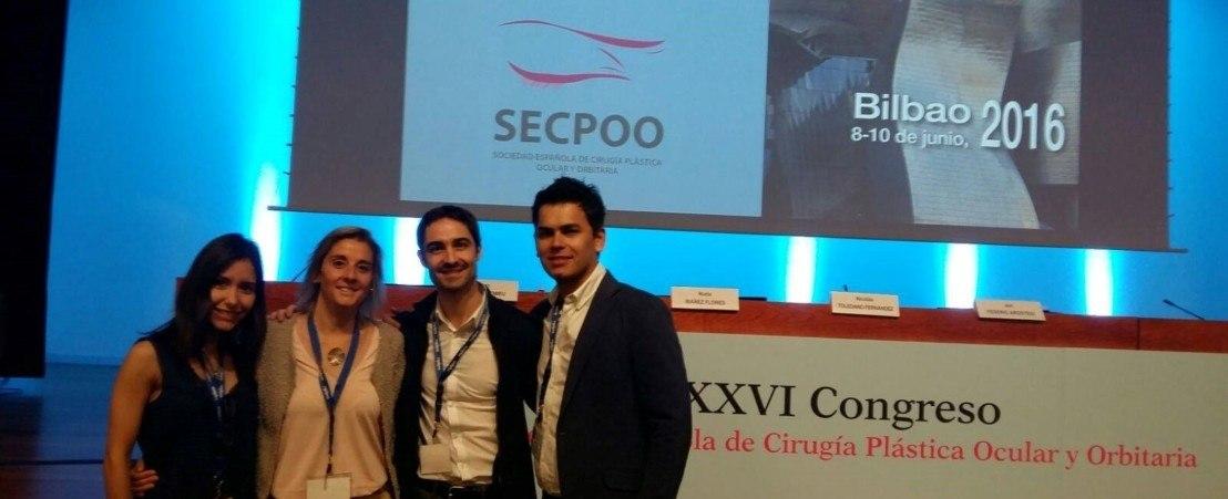 L'équipe du Département d'Oculoplastie présente plusieurs communications au XXVIème Congrès de la SECPOO