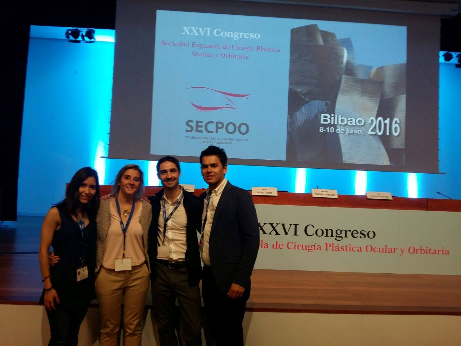 ICR Oculoplastics Department Team presents several communications in SECPOO 26th Congress