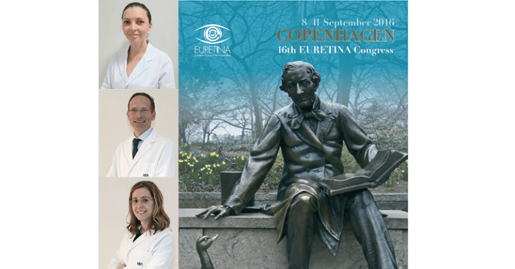 The Retina and Vitreous Dept takes off to EURETINA 2016