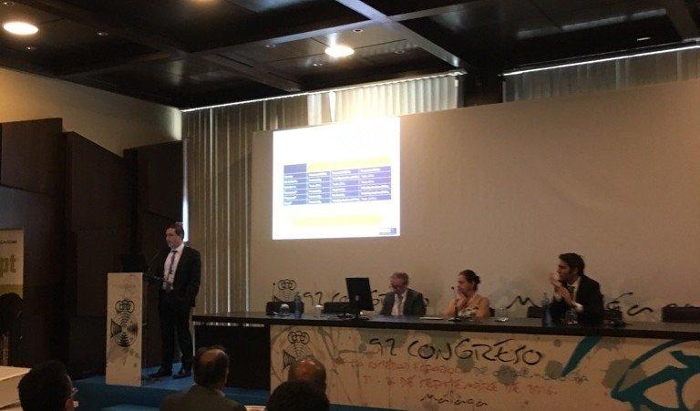 El Dr. Antón en el congreso de la SEO