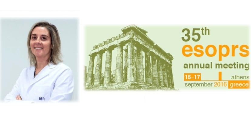 Dr. Ibáñez takes part in the Congress of the European Society of Ophthalmic Plastic and Reconstructive Surgery (ESOPRS) in Athens
