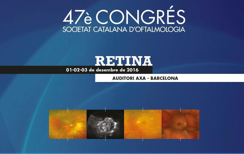 L'ICR al 47è congrés de la Societat Catalana d'Oftalmologia
