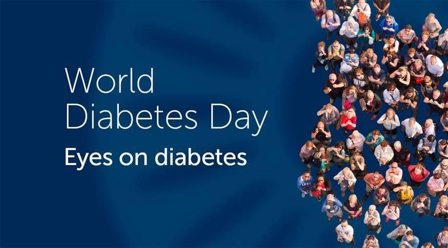 World Diabetes Day 2017: Eyes on diabetes