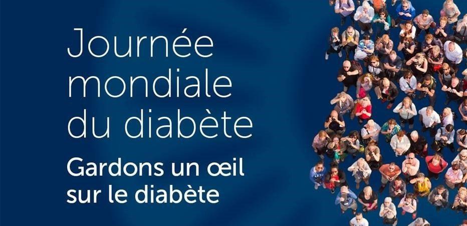Journée Mondiale du Diabète 2017 : Gardons un œil sur le diabète