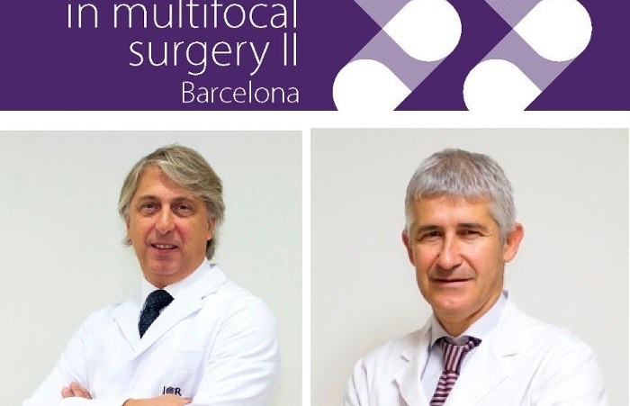 ICR, en la segunda edición de New trends in multifocal surgery en Barcelona