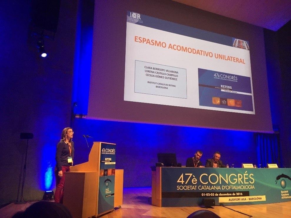 congréeso de la Sociedad Catalana de Oftalmología