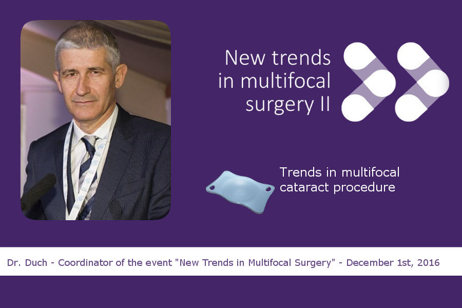 Dr. Duch on trifocal intraocular lenses, the multifocal lenses trend for cataract surgery