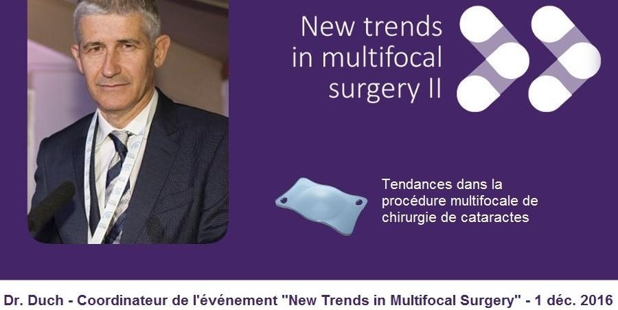 Dr. Duch sur les lentilles trifocales, tendance en lentilles multifocales