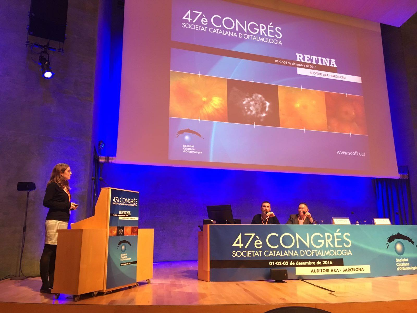 La Dra. Rey recibe el premio a la mejor comunicación en vídeo en el 47º Congreso de la SCOFT
