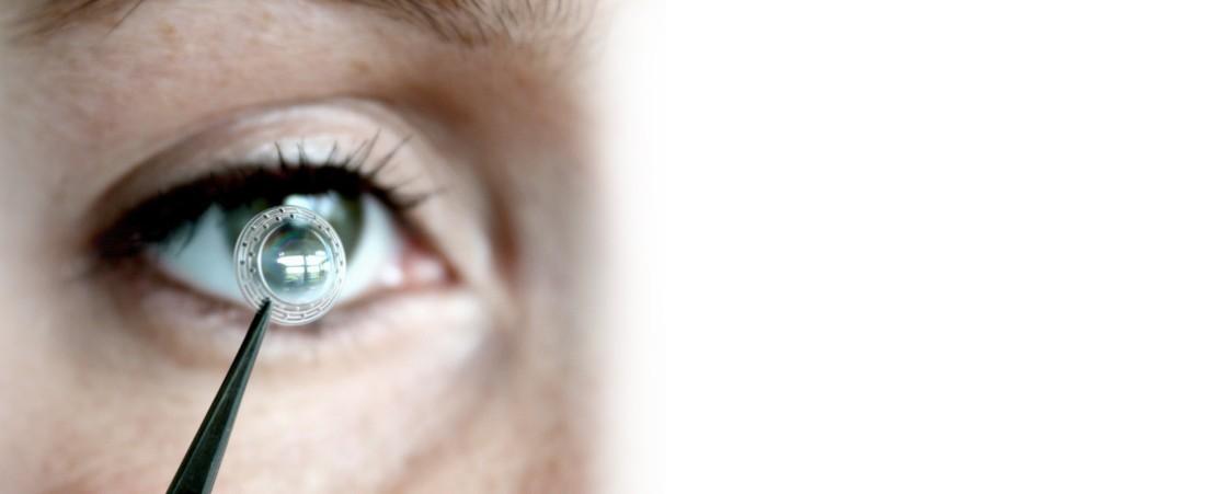 زراعة الحلقات داخل العين