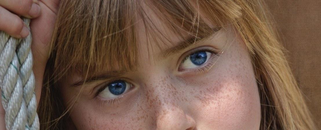Els ulls blaus, en realitat no ho són