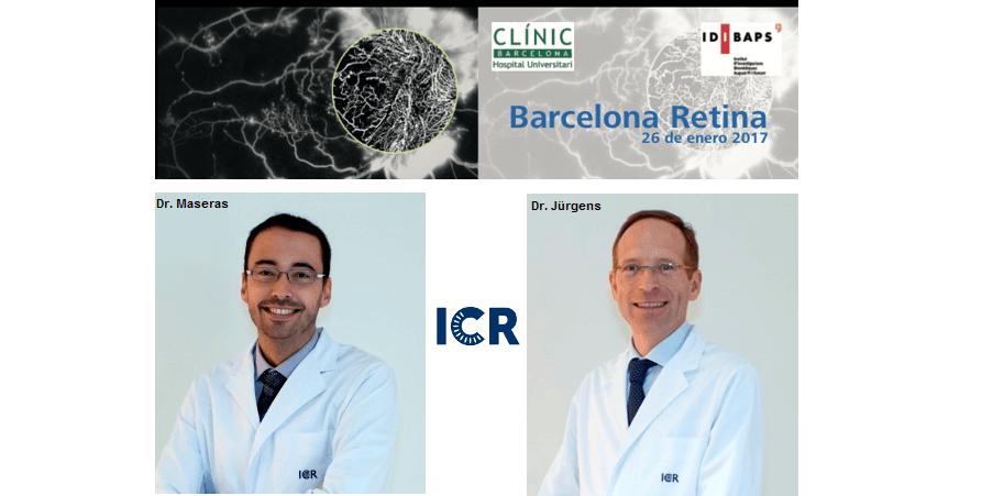 El Dr. Jürgens y el Dr. Maseras, ponentes en el Barcelona Retina 2017