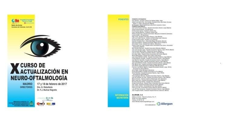 X curso de actualización en neuroftalmología