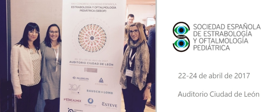 The ICR team give several presentations at the Spanish Society of Paediatric Opthalmolgy and Strabismus (SEEOP)