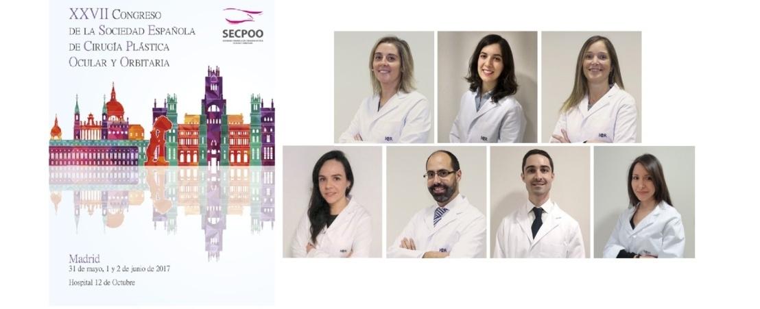 El equipo de ICR presenta varias comunicaciones en el Congreso de la SECPOO