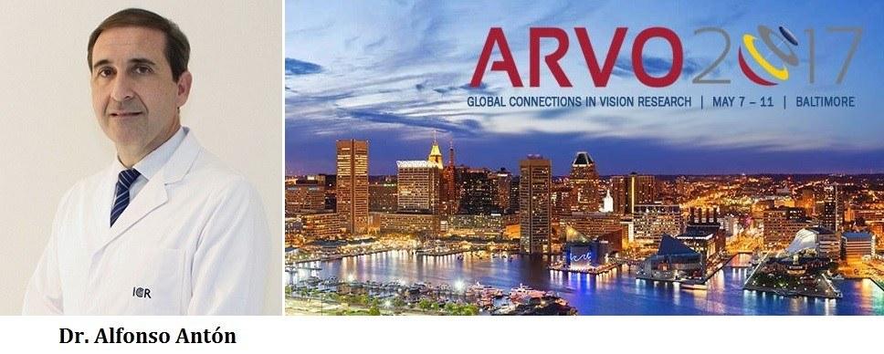El Dr. Antón analiza varias tecnologías de detección y tratamiento del glaucoma en la reunión de ARVO en Baltimore