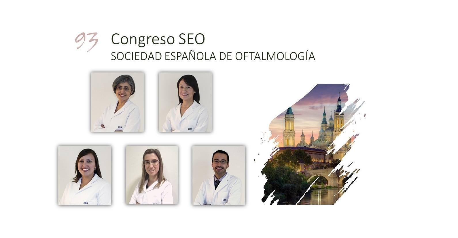 Oftalmólogos del ICR presentan en el congreso de la SEO 2017