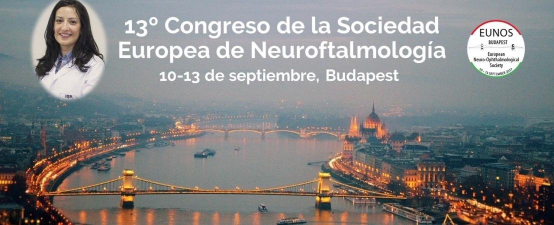La Dra. Castillo presenta un inusual caso de fístula carotidocavernosa con síndrome de Horner como manifestación inicial en el congreso EUNOS 2017