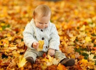 ojos sanos en otoño