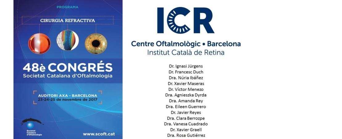 El 48è congrés de la Societat Catalana d'Oftalmologia se centra aquest any en la cirurgia refractiva